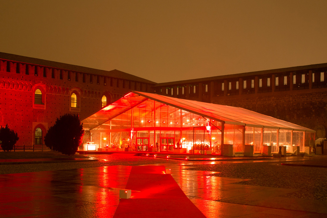 Campari Convention Italia Evento Castello Sforzesco 020