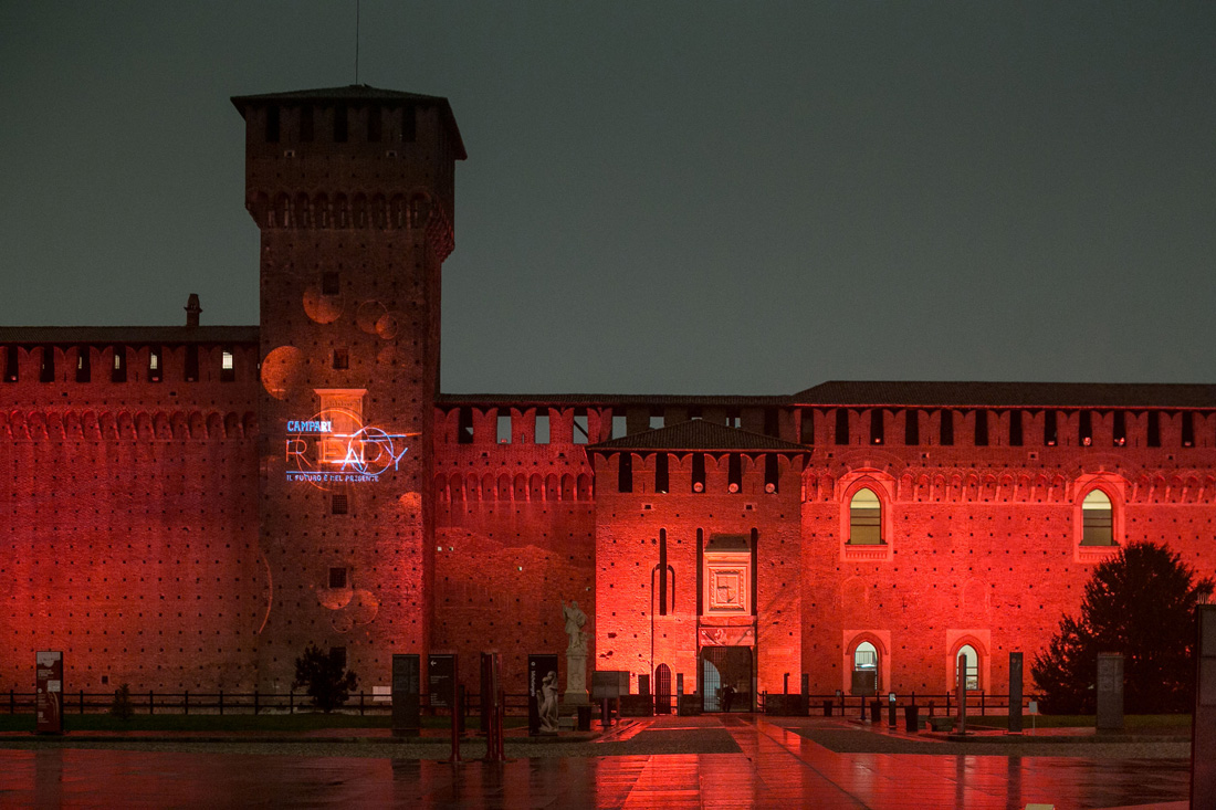 Campari Convention Italia Evento Castello Sforzesco 022