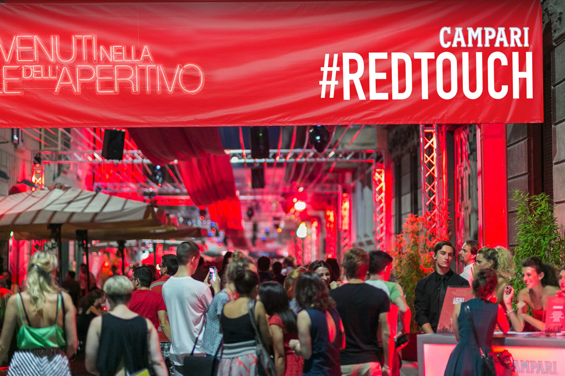 Campari Evento Navigli Red Touch_ Milano EXPO _001
