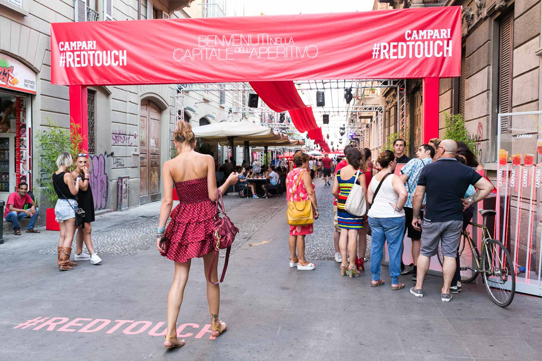 Campari Evento Navigli Red Touch_ Milano EXPO _002
