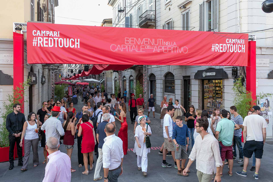 Campari Evento Navigli Red Touch_ Milano EXPO _005