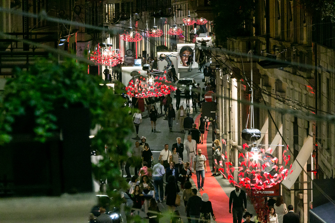 Campari Fashion Avenue_Event_milano_firenze fashion week_ via montenapoleone_via tornabuoni_ 0000