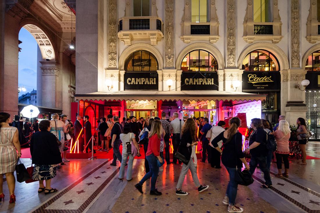 Camparino in Galleria 100anni_Milano Piazza del Duomo_evento_010