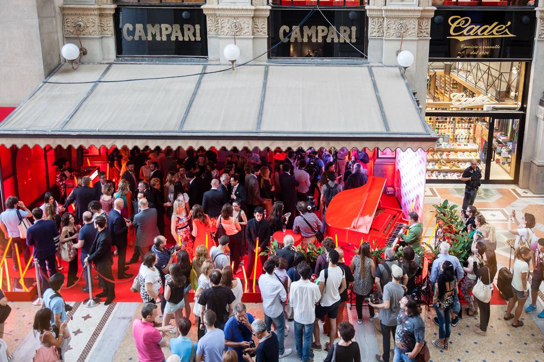 Camparino in Galleria 100anni_Milano Piazza del Duomo_evento_011