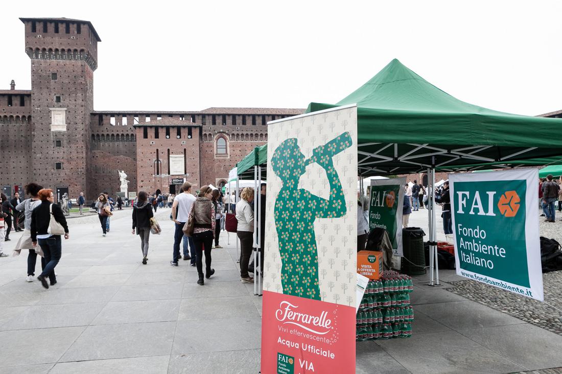 Ferrarelle giornata FAI evento diffuso Milano 004